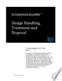 Engineering SoundBite: Sludge Handling, Treatment and Disposal