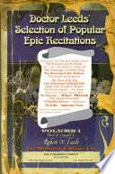 Doctor Leeds  Selection of Popular Epic Recitations