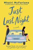 Just Last Night Book