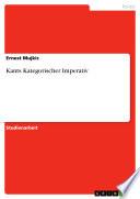 Kants Kategorischer Imperativ