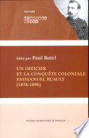 Un Officier Et La Conqu Te Coloniale Emmanuel Ruault