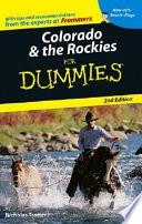 Colorado   the Rockies For Dummies
