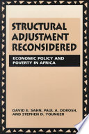 Structural Adjustment Reconsidered