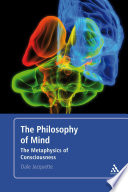 The Philosophy of Mind