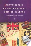 Encyclopedia of Contemporary British Culture