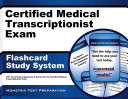Certified Medical Transcriptionist Exam Flashcard Study System