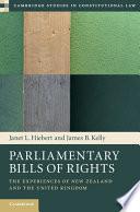 Parliamentary Bills of Rights