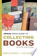 The Official Price Guide to Collecting Books