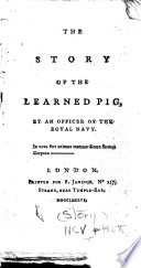 The Story of the Learned Pig