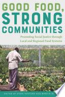 Good Food  Strong Communities