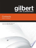 Gilbert Law Summaries on Contracts  14th