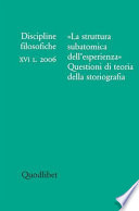 Discipline Filosofiche (2006-1)