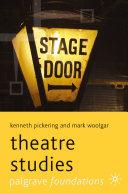 download ebook theatre studies pdf epub