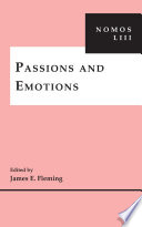 Passions And Emotions book