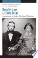 Recollections of Early Texas