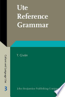 Ute Reference Grammar