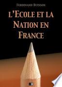 illustration L'École et la Nation en France