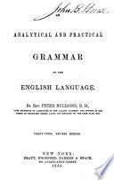 An Analytical and Practical Grammar of the English Language Book PDF