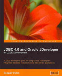JDBC 4.0 and Oracle Jdeveloper for J2ee Development