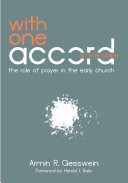 download ebook with one accord in one place pdf epub