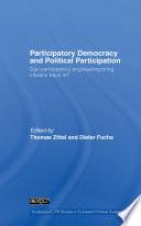 Participatory Democracy and Political Participation