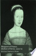 Margaret of France  Duchess of Savoy  1523 74
