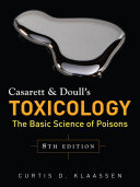 Casarett Doull S Toxicology The Basic Science Of Poisons Eighth Edition