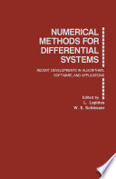 Numerical Methods for Differential Systems
