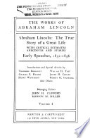 The works of Abraham Lincoln