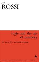 download ebook logic and the art of memory pdf epub