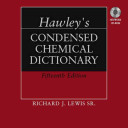 Hawley s Condensed Chemical Dictionary  Book and CD ROM Set