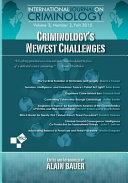 Criminology s Newest Challenges