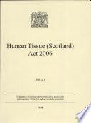 Human Tissue  Scotland  Act 2006
