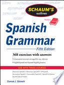 Schaum s Outline of Spanish Grammar  5ed