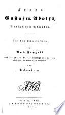 Leben Gustaf II  Adolfs  Koenigs von Schweden