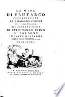Le Vite Di Plutarco Volgarizzate Da Girolamo Pompei (etc.) Pdf/ePub eBook