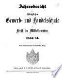 Jahresbericht der Königlichen Gewerb- und Handelsschule zu Fürth in Mittelfranken