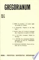 Gregorianum: Vol. 55, No. 1