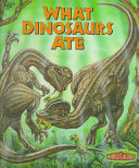 What Dinosaurs Ate