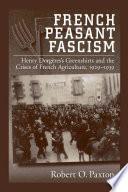 French Peasant Fascism