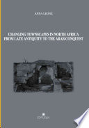 illustration du livre Changing Townscapes in North Africa from Late Antiquity to the Arab Conquest