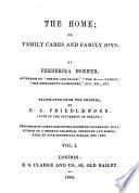 The Novels of Frederika Bremer Book PDF