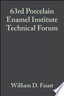 63rd Porcelain Enamel Institute Technical Forum