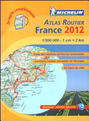 France. Atlas routier 2012 1:200.000