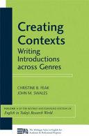 Creating Contexts
