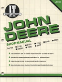 John Deere Shop Manual 2150 2155 2255 2350