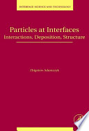 Particles At Interfaces book