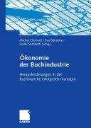 Ökonomie der Buchindustrie