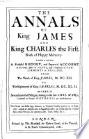 The Annals of King James and King Charles the First