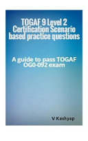 Togaf 9 Level 2 Exam Question Bank